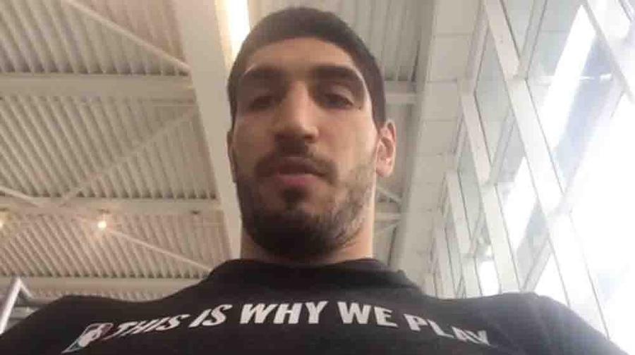 Enes Kanter'in pasaportuna el konuldu